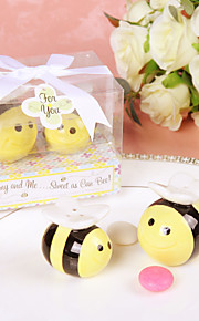 Mommy and Me ... Sweet As Can Bee Keramisk Honeybee Salt & Peber Shakers