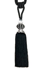 TWOPAGES® Contemporary Polyester Tassel (One Pair)