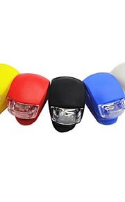 Лампа велосипедная передняя 3-режимная с 2 светодиодами (2xCR2032, цвета в ассортименте)