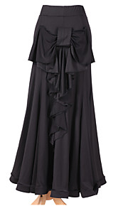 Dancewear Viscose Latin Dance Skirt For Ladies