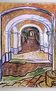 Famous Oil Painting Corridor in Saint-Paul Hospital by Van Gogh