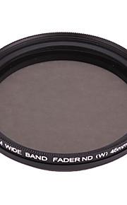 FOTGA Variabel Neutral Density ND2-ND400 Fader Filter (Black, 46mm)