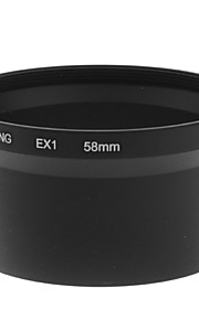 58mm Lens Adapter Tube For Samsung TL500 / EX1