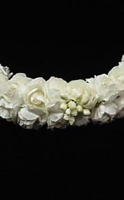 Celada Bandas de cabeza/Flores Boda/Ocasión especial Papel Niña de flor Boda/Ocasión especial