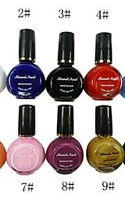 10 kleuren zuivere kleuren uv builder gel nail art 10ml