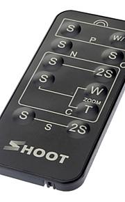 Draadloze IR-afstandsbediening voor Sony / Canon / Nikon / Olympus / Pentax (1xCR2025)