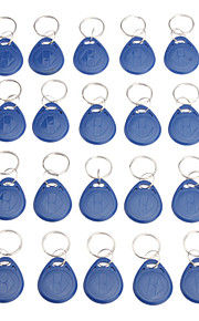 20 stuks Writeble RFID sleutelhanger Card (FOB Tag EM-formaat)