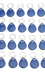 20 Pcs Writeble RFID nøglering Card (Fob Tag EM-format)