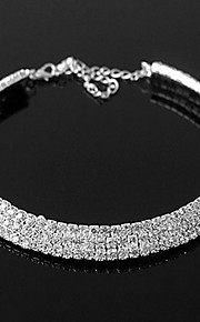 Women's Alloy Necklace Birthday/Gift/Party/Daily/Special Occasion/Causal Rhinestone