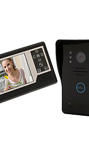 """3,5 """"TFT-kleurendisplay Draadloze Waterdichte Video Intercom deurbel deurtelefoon intercom systeem"""