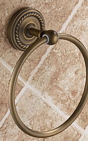 Antique Cercle Bronze Brass Ring-serviettes