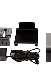 Black Kinect Sensor Mount Stand + USB AC Power Adapter For Microsoft Xbox 360