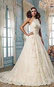 Lanting Bride® Trapèze Petites Tailles / Grandes Tailles Robe de Mariage - Classique & Intemporel / Elégant & Luxueux Inspiration Vintage