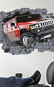 Transportation Hummer Wall Stickers