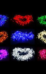 10M 100-LED Multicolor Lett LED juledekorasjon String Light med 8 visningsmodier (220V)