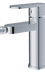 Contemporary Chrome Swivel pulvérisation en laiton robinet de bidet