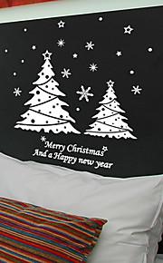 Holiday joulukuusen Snow Wall Tarrat
