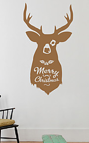 Holiday Christmas Reindeer muurstickers