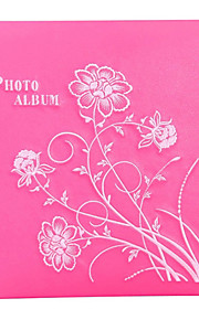 "Leather Style Floral 3 ""* 5"" Album Foto (360 Pocket)"