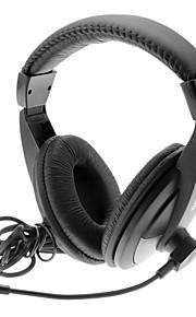 SALAR A17 Goede kwaliteit stereo hoofdtelefoon met microfoon voor de PC, Laptop
