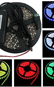 5M 300X3528 Smd stripe lys og Connector og AC110-240V til Dc12V3A Eu Transformer (flere farger)