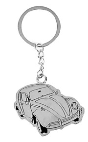 Personalized Engraved Gift Creative Car SHpaed Keychain