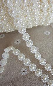 bruiloft decor 1m bloemen faux parel slingers voor decoratie