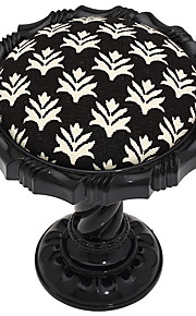 Retro European Classic Black Sunflower Shape Holdbacks (ett par)