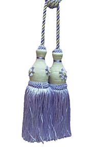 Purple Modern Style Tassel (One Pair)