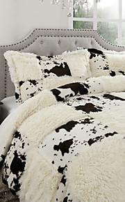 enkel&opulence® påslakan set, 3-delat modern polyester lapptäcke