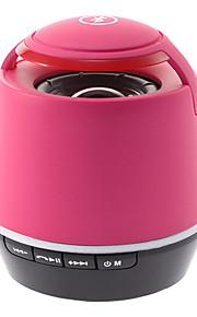 S05 Bluetooth højttaler med en TF Card Reader (Pink)