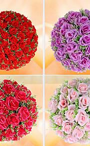 עיצוב חתונה אלגנטי עלה כדור-פרח / זר (יותר צבעים)