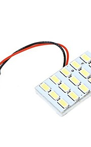 5630 SMD 15 LED Wit Licht voor Auto-interieur met 3 Adapters