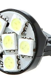 7443 T20 6 5050 SMD LED de la cola del freno del coche de tope de giro de la lámpara de la bombilla