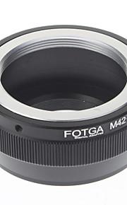 FOTGA M42-M4 / 3 della metropolitana di Digital Camera Lens Adapter / Extension