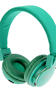 MRH-8809 3,5 mm stereo Sammenleggbar On-Ear Headphone med TF / FM-funksjon (grønn)
