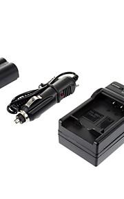 ismartdigi-Pana S006/A/1B/E 700mAh, 7.2V + auto-oplader voor PanasonicFZ50/FZ30/FZ18/FZ7/FZ28/FZ8/FZ35/FZ38