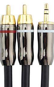 C-Cable 3,5 millimetri maschio a maschio 2xRCA Audio Cable (3M)