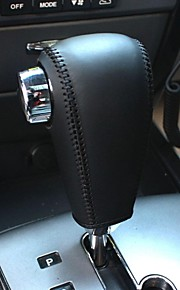 XuJi ™ Black Genuine Leather Gear Shift Knob Cover for Kia Sorento 2004-2008 Automatic