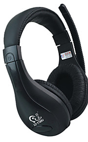 JiaHe CD-770MV Over-Ear Headband hodetelefon med mikrofon