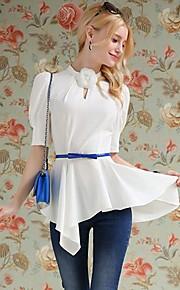 Women's White Shirt , Work ½ Length Sleeve