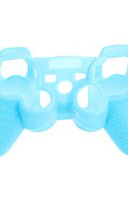 PS3-kontrolleren Noctilucent beskyttende veske Silicone Skin bag