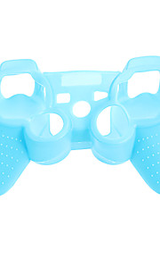 PS3-ohjaimen Noctilucent suojakotelo Silicone Skin laukku