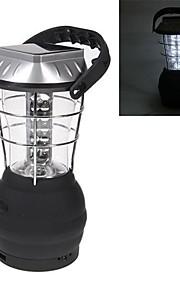 manivelle lampe solaire lanterne de camping avec 36 conduit