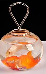 tabellen center gjennomsiktig glass fisken tank bord deocrations (fisk ikke inkludert)