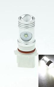 P13W pg18.5d1 Cree XP-e conduit 20w 1300-1600lm 6500-7500k ac / DC12V-24 brouillard blanc - argent transparent
