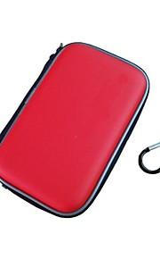 eva huid carry reizen harde geval zak zakje dekking voor nintendo 3ds xl / xl