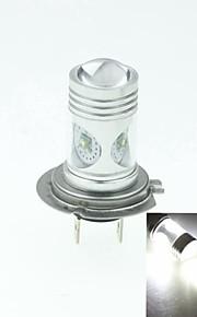 h7 PX26d Cree XP-e conduit 20w 1300-1600lm 6500-7500k ac / DC12V-24 brouillard blanc - argent transparent