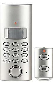 DIY PSTN auto-dial hjem alarm med remoto controller