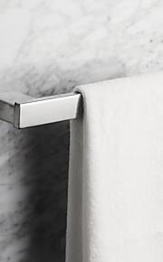 anneau de serviette, en acier inoxydable carré contemporain, accessoire de salle de bains